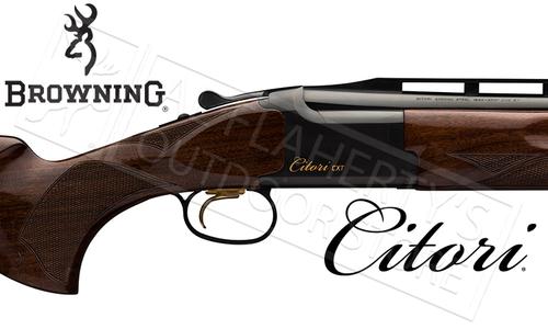 Browning SG Citori CXT Shotgun with Adjustable Comb and High Rib 12 Gauge