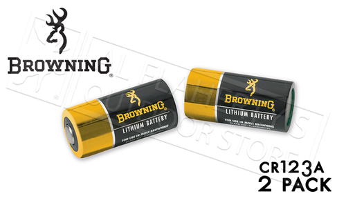 Browning CR123A Lithium Battery 2-Pack #3742100