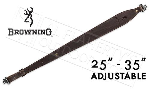 "Browning JMB Signature Sling, Leather 35"" Adjustable #122398"
