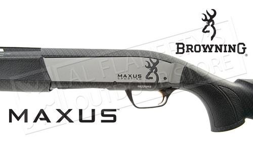 """Browning SG Maxus Sporting Shotgun Carbon Fiber 12 Gauge, 28"""" or 30"""" barrel 3"""" Chamber #01160930"""