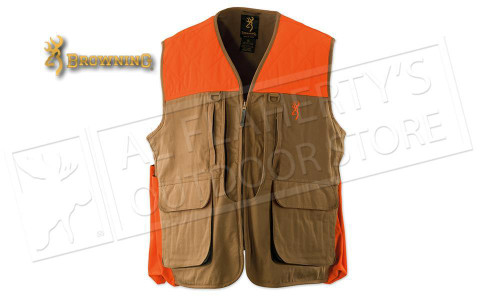 Browning Pheasants Forever Vest with Pheasants Forever Embroidery