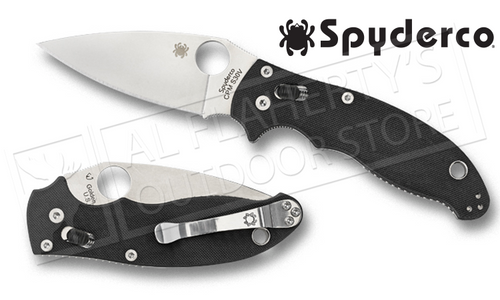 SPYDERCO MANIX 2 FOLDING KNIFE #C101GP2