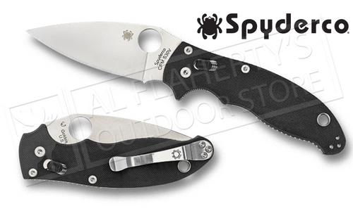 SPYDERCO MANIX 2 FOLDING KNIFE #C101GP2