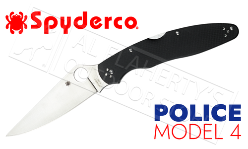 Spyderco Smock by Kevin Smock Sheepsfoot with Carbon Fiber