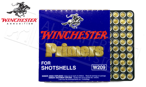 WINCHSTER 209 SHOTSHELL PRIMERS, STRIP OF 100