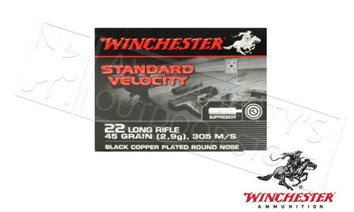 Winchester Standard Velocity Sub Sonic 22 Long Rifle 235 Count