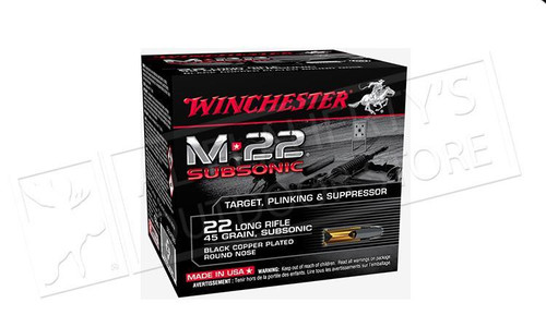 WINCHESTER 22 LONG RIFLE, 45 GRAINS
