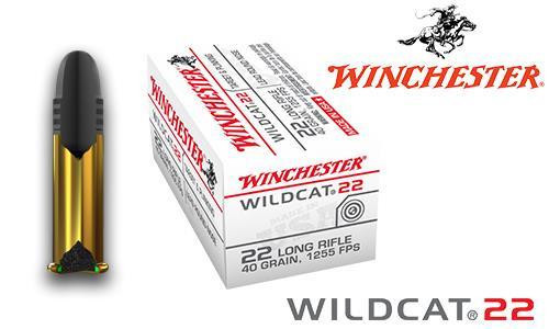 WINCHESTER WILDCAT 22 .22LR BOX OF 50, 40 GRAIN