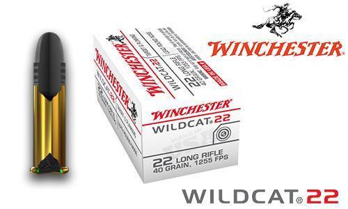 WINCHESTER WILDCAT 22 .22LR BOX OF 50, 40 GRAIN