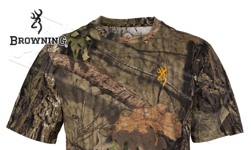 Browning Wasatch CB Short Sleeve T-Shirts in Mossy Oak Break-up Country Camo #30178128