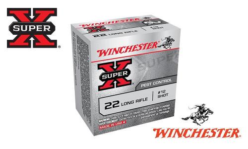 WINCHESTER SUPER X, 22LR, NO. 12 SHOT, BOX OF 50