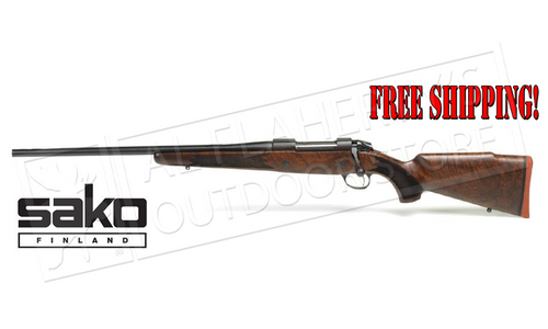 Sako 85 Hunter Rifle Left-Handed Wood/Blued, Various Calibers #JRS1A1