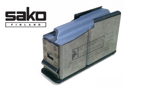 Sako 85 Magazine, Blued Medium Caliber, Type D #S5A60386