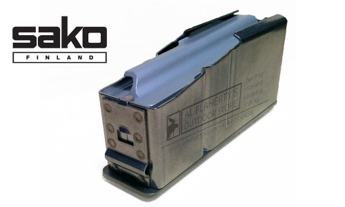 Sako 85 Magazine, Stainless Steel Medium Action, Type D, 5-Round #S5AR0386