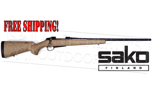 Sako A7 Roughtech Pro Rifle, Desert Finish with Fluted Barrel - Various Calibers #A7PRODT