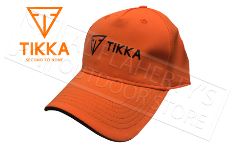 Tikka Hat Blaze Orange Baseball Cap #SC208583