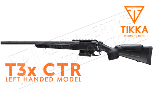 Tikka T3X CTR Rifle, Left Handed - Various Calibers #TF1T29HL