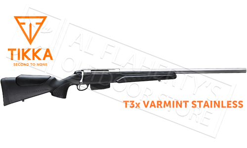Tikka T3x Varmint Stainless Rifle - Various Calibers