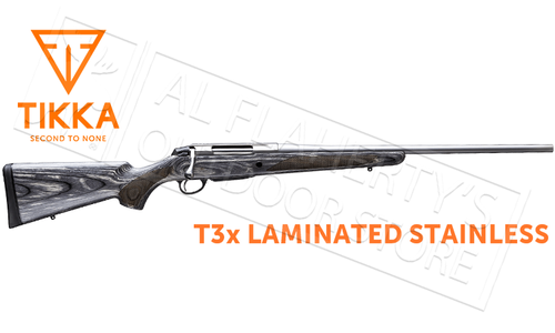 Tikka T3x Laminated Stainless Rifle - Various Calibers