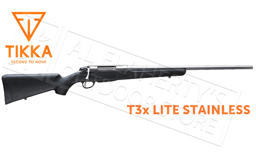 Tikka T3x Lite Stainless Rifle - Various Calibers