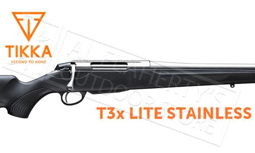 Tikka T3x Lite Stainless Rifle - Various Calibers