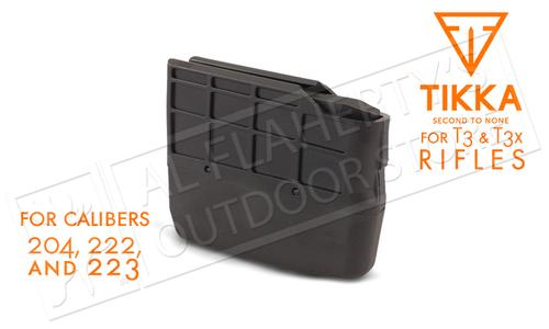 Tikka Magazine T3 and T3X, 6-Round, Calibers .204, .223, and .222 #S5850376