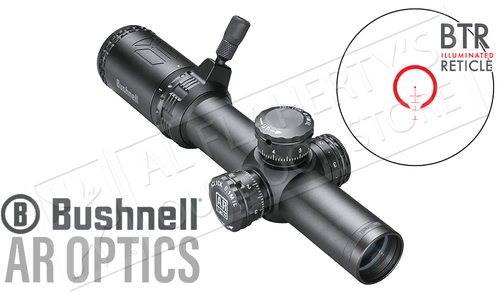 Bushnell AR Optics 1-4x24 Scope, FFP with BTR Reticle #AR71424i