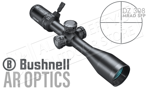 Bushnell AR Optics 4.5-18x40mm Scope with DZ308 MRAD Reticle #AR741840B
