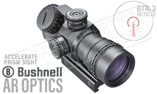 Bushnell AR Optics 4x32mm Prism Scope with Illuminated BTR3 Reticle #AR750010