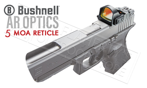 Bushnell AR Optics Advance Red Dot Reflex Sight, 5-MOA #AR750006