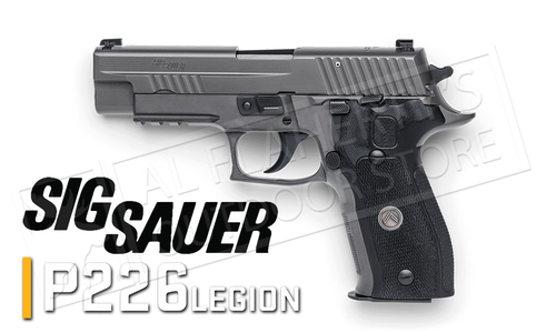 SIG Sauer Handgun P226 Legion 9mm Double Action