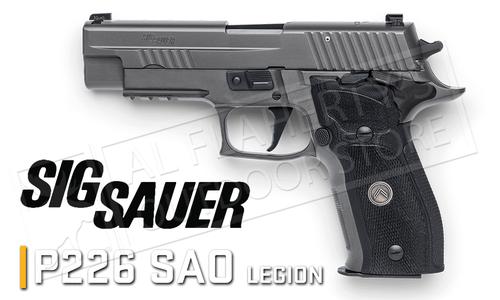 SIG Sauer Handgun P226 Legion 9mm SAO