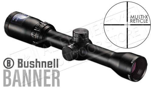 Bushnell Banner Scope, 1.5-4.5x32mm w/Multi-X Reticle #611546