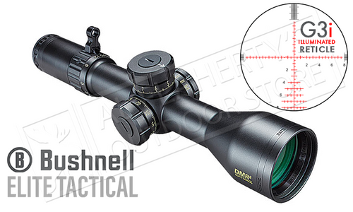Bushnell Elite Tactical DMR II FFP Scope 3.5-21x50mm with G3i Illuminated Reticle #ET36215Gi