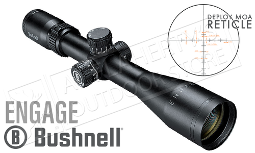 Bushnell Engage Scope 2.5-10x44mm with Deploy MOA Reticle #REN21044DG
