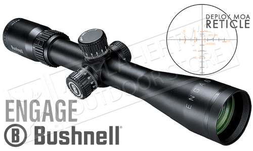 Bushnell Engage Scope 3-12x42mm with Deploy MOA Reticle #REN31242DG