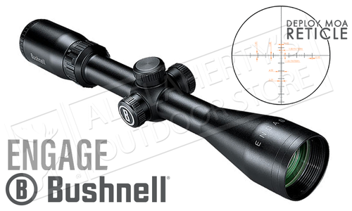 Bushnell Engage Scope 4-12x40mm with Deploy MOA Reticle #REN41240DW
