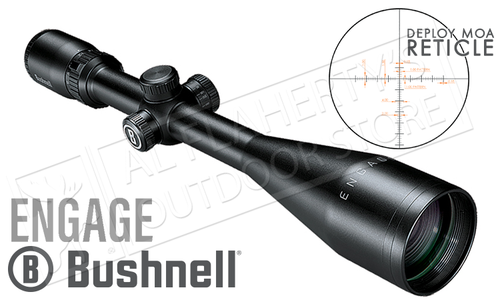 Bushnell Engage Scope 6-18x50mm with Deploy MOA Reticle #REN61850DW
