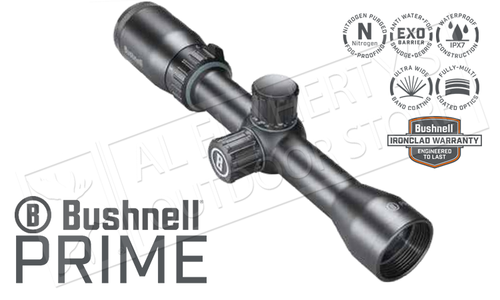 Bushnell Prime 1-4x32mm Scope with Multi-X Reticle #RP1432BS3