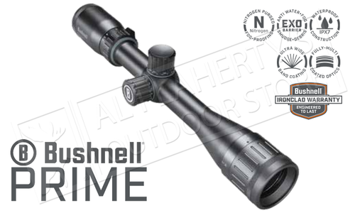 Bushnell Prime 3.5-10x36mm Scope with Multi-X Reticle and Front Parallax Adjustment #RP3103BS3