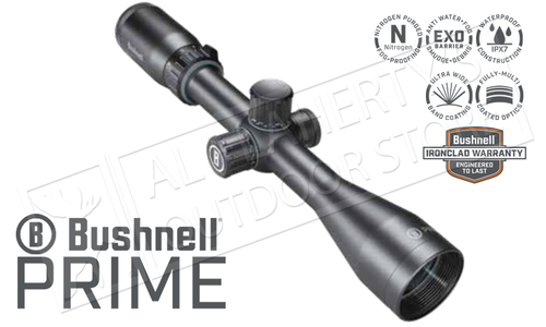 Bushnell Prime 4-12x40mm Scope with Multi-X Reticle and Side Parallax Adjustment #RP4124BS3