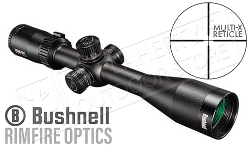 Bushnell Rimfire Scope 6-18x40mm with Multi-X Reticle #633184