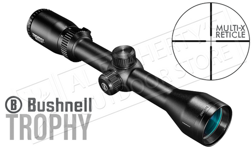 Bushnell Trophy Scope 2-7x36mm with Multi-X Reticle #752736