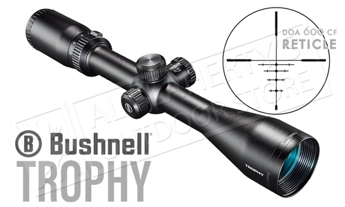 Bushnell Trophy Scope 4-12x40mm with DOA 600 CF Reticle #754120B