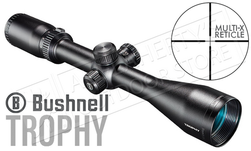 Bushnell Trophy Scope 4-12x40mm with Multi-X Reticle #754120