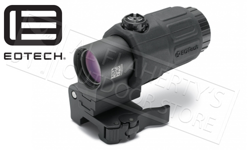 EoTech G33 STS Magnifier, 3X Power QD Lever and 7mm Riser Plate #G33STS