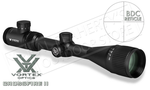 Vortex Crossfire II 6-18x44mm Scope with BDC Reticle and Adjustable Parallax #CF2-31033