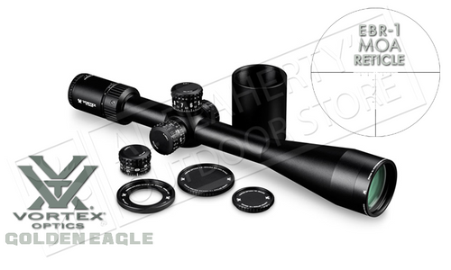 Vortex Golden Eagle HD 15-60x52mm Scope with ECR-1 MOA Reticle #TCS-1503