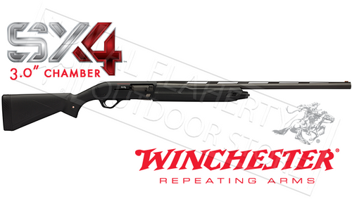 "WINCHESTER SX4 SHOTGUN, BLACK SYNTHETIC 12G 3"" CHAMBER 28"" BARREL"