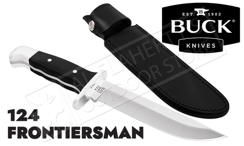 Buck Knives 124 Frontiersman Fixed Blade #0124BKSLE-B